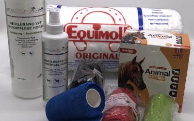 Medilutions Mauke Horse Care jetzt als Behandlungs-Set im Programm von Medilutions